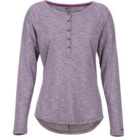 Marmot Jayne Maniche lunghe Donna, vintage violet